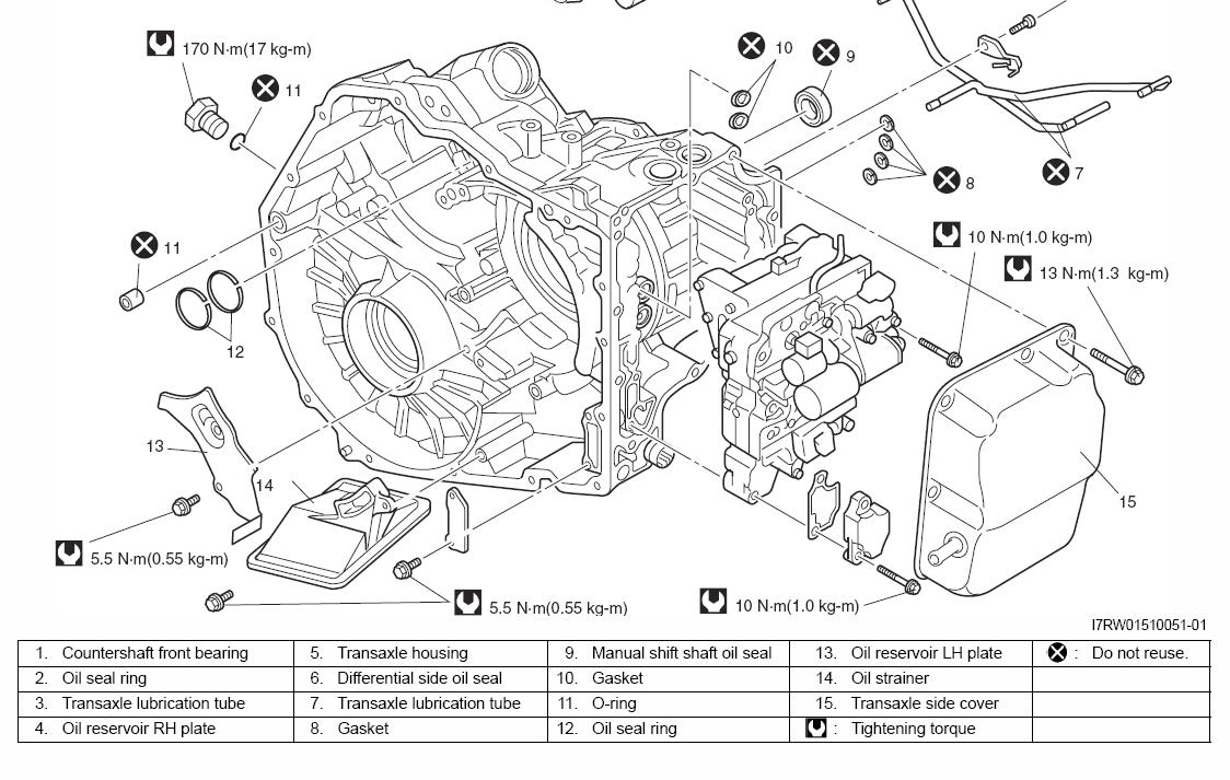 Transmission Has No Filter Ring Main Wiring Free Download Diagrams Pictures