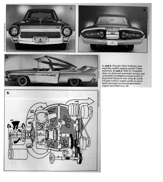 CHRYSLER'S Turbine Program Began With An Orange-red 1954